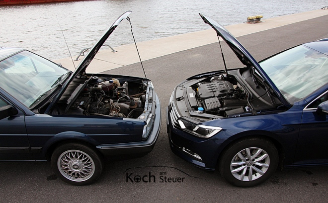 VW Passat 32B & VW Passat B8